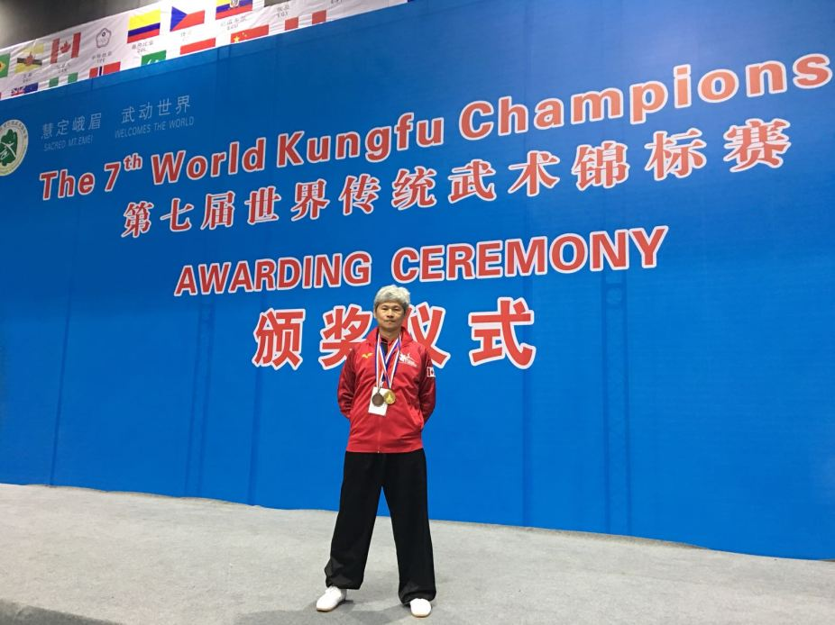 Congrats to TKF Student Pui Chung (PC) Wai who captured 1 x Gold & 1 x Bronze at the 7th World Kung Fu Championships at E'Mei Shan, China. | Nov.7, 2017